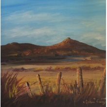 Autumn Glow Bennachie by Graham Covey