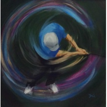Blue Spiral by Janet McCrorie
