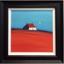 The Red Roof Cottage by Kim Curson
