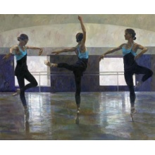 Darcy Bussell In Three Movements by Fletcher Sibthorp