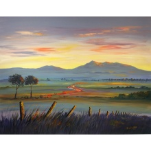 Evening Glow Bennachie by Graham Covey