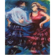 Ceilidh Spin by Janet McCrorie
