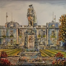 Memorial Gardens Inverurie by Nigel Cooke