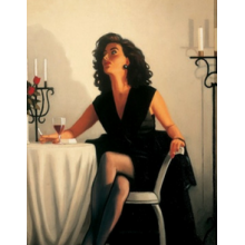 Table For One by Jack Vettriano