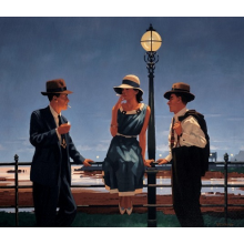 Game of Life by Jack Vettriano