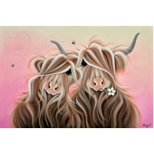 Moos at Sunset by Jennifer Hogwood