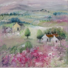 Pinks and Purples Bennachie III by Kanita Sim