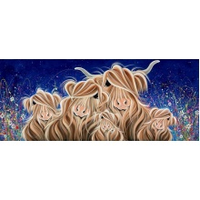 Twilight Meadow Fa-moo-ly by Jennifer Hogwood